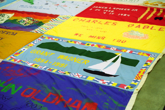 19930918 The AIDS Quilt Comes to Fort Worth : names project quilt panels - Adamdwight.com