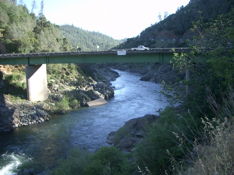 Image result for Photos of highway 49 at American River Confluence