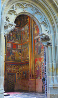 St Wenceslas Chapel Is Perhaps The Most Beautiful Part Of Cathedral It So Richly Decorated That Admission Strictly Controlled