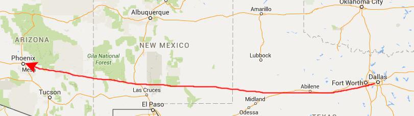 Map Of Arizona Daylight Savings Time.19940630 Hikes North Of Phoenix Arizona